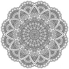 Find Mandala Round Ornament Pattern Vintage Decorative stock images in HD and millions of other royalty-free stock photos, illustrations and vectors in the Shutterstock collection. Mandala Art, Mandalas Painting, Mandalas Drawing, Mandala Coloring Pages, Mandala Pattern, Coloring Book Pages, Dot Painting, Zentangles, Animals Tattoo