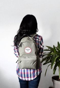 Khaki/Olive green Established everyday backpack North Wales, North Face Backpack, Plush, Backpacks, Unisex, Purpose, Contrast, Trending Outfits, Velvet