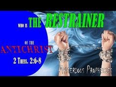 Who is the Restrainer? Bible Studies, Holy Spirit, Mysterious, How To Find Out, Mystery, Education, Youtube, Holy Ghost, Educational Illustrations