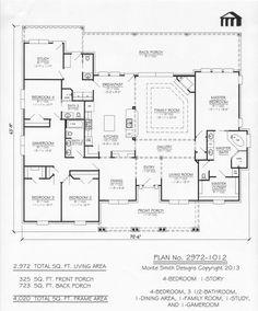 2972-1012 Monte Smith Designs House Plans
