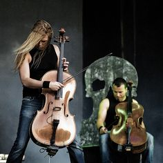 Apocalyptica is a Finnish metal band from Helsinki, formed in 1993. The band is composed of classically trained cellists Eicca Toppinen, Paavo Lötjönen, and Perttu Kivilaakso (all three of whom are graduates of the Sibelius Academy in Helsinki) and drummer Mikko Sirén.