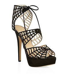 Charlotte Olympia Suede Web Platform Sandal (Women) available at Charlotte Olympia, Ankle Boots, Shoe Boots, Platform Shoes, Web Platform, Black Platform, Black Suede Shoes, Suede Sandals, Sandal Heels