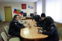 В Курчатове члены Общественного совета при МВД посетили отдел полиции