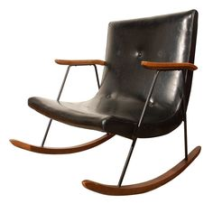 L-O-V-E this rocking chair! It's vintage so I wonder if I could get my father-in-law to help us build one. Awesome!