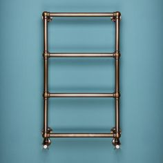 The Mayfair is a new addition to our range of Tradiational Heated Towel Rails. Featuring embelished ball joints, the Mayfair can be seen here in a bronze finish with our Queensgate valves. Bathroom Towel Radiators, Electric Towel Rail, Electric Radiators, Heating And Plumbing, Plumbing Installation, Towel Warmer, Bathroom Inspiration, Bathroom Inspo, Bathroom Ideas
