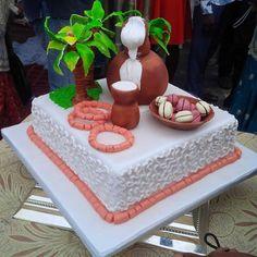 Nigerian traditional wedding cake - Nigerian traditional wedding cake Nigerian traditional wedding cake Nigerian traditional wedding ca - African Wedding Cakes, African Wedding Theme, African Weddings, Teal Wedding Bouquet, Fancy Wedding Dresses, Nigerian Traditional Wedding, Traditional Wedding Attire, Traditional Weddings, African Cake