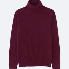 Discover the new selection of men's cashmere Jumpers at UNIQLO online. Select from a variety of styles and colours to suit your style. Uniqlo Men, Cashmere Turtleneck, Simple Outfits, Long Sleeve Sweater, Denim Jeans, Knitwear, Turtle Neck, Mens Fashion, Men's Clothing
