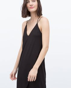 Image 2 of LOW CUT DRESS from Zara