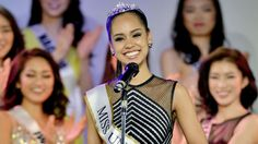 Ariana Miyamoto is the FIRST woman of color to win the Miss Japan 2015 title and proudly wears her sash and crown for her native country Japan.