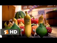 Sausage Party - The Fruits Attack Scene Sausage Party Movie, New Trailers, Real Life, Scene, Fruit, Youtube, Youtubers, Youtube Movies, Stage