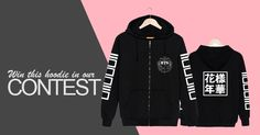 Win this BTS Hoodie from Dark Triad