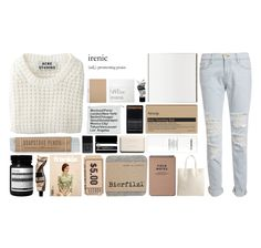 """A N C E   S T U D I O S"" by sahcurby ❤ liked on Polyvore featuring Acne Studios, Rochas, Frame Denim, Aesop, NARS Cosmetics, Chanel, women's clothing, women's fashion, women and female"