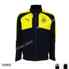 2016-17 Borussia Dortmund Black Thailand Soccer Jacket