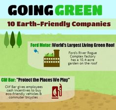 Happy Earth Day! 10 Earth-Friendly Companies Going Green! (Click for full pic!)
