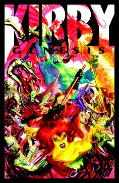 Kirby: Genesis #7 - Cover by Alex Ross
