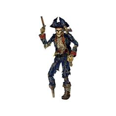 6' Rotted Pirate Skeleton Halloween Prop (€9,29) ❤ liked on Polyvore featuring costumes, skeleton halloween costume, pirate costume, pirate halloween costumes, skeleton costume and x ray costume