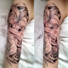 Maybe some day I will be gutsy enough for a half sleeve....doubt it though...