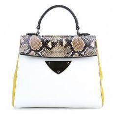 wardow.com - #trend #bag #animal #snake #Coccinelle B14 Lux Henkeltasche genarbtes Rindsleder mehrfarbig