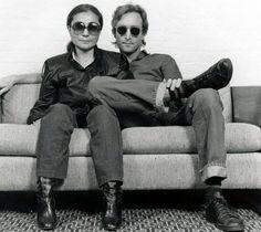 October 1980 - John Lennon and Yoko Ono