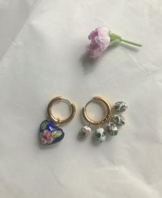 Roma No.1 | Et toi paris Paris, Summer Time, 18k Gold, Jewelry Box, Plating, Artisan, Stud Earrings, Jewels, Elegant