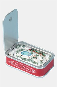 Roman 'Sardine Can' Music Box available at #Nordstrom Could be made from Altoids tin...