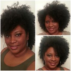 Nicole Bailey's natural hair rocks. #officiallynatural #teamnatural