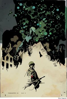 First Look: Jason Latour And Mike Mignola Team Up For 'Sledgehammer' in 2013 - ComicsAlliance | Comic book culture, news, humor, commentary, and reviews