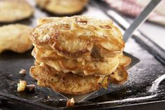 Looking for an easy, delicious brunch recipe? Give these Easy Apple Pancakes a try.