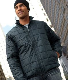 Storm Creek Mens Lightweight Quilted Jacket