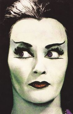 """Amazing Color Photos of Yvonne De Carlo as Lily Munster in the Hit Sitcom """"The Munsters"""" ~ vintage everyday Lily Munster, The Munsters, Munsters Tv Show, Munsters Theme, Yvonne De Carlo, Morticia Addams, Horror Show, Horror Movies, Cult Movies"""