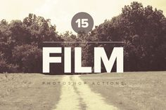 Premium Film PS Actions by @Graphicsauthor