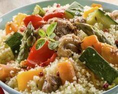 Couscous express au poulet spécial Cookeo : http://www.fourchette-et-bikini.fr/recettes/recettes-minceur/couscous-express-au-poulet-special-cookeo.html