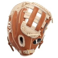 "Louisville Slugger 13-Inch TPX Pro Flare First Base Mitt (Right Hand Throw) by Louisville Slugger. $183.53. The FLFB is a 13"" first base mitt with a closed back with strap and an H-web. The Pro Flare series is a premium line of fielding gloves from Louisville Slugger. This glove is for a right-handed thrower."