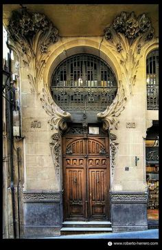 Barcelone, Espagne - Elegant 1910