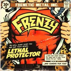 BEHIND THE VEIL WEBZINE BLOG: FRENZY – Lethal Protector EP review