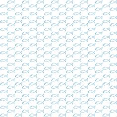FREE digital blue fishes scrapbooking paper: printable DIY wrapping paper with cute blue fishes