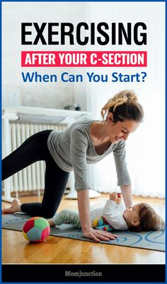 When Can You Start Doing Exercises After C-Section? Did you have a cesarean delivery & are wondering when you can work out to get back in shape? Read to know when can you start doing exercises after C section Getting In Shape After C Section, Getting Back In Shape, Get In Shape, Post Baby Workout, Post Pregnancy Workout, After Pregnancy, Fit Pregnancy, Mom Workout, Pregnancy Fitness