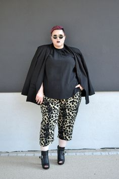 Dressing Outside The Box: leopard