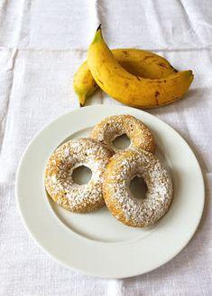 CUISINER BIEN : Bananen-Donuts