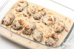 LEBANESE RECIPES: Rice and Lamb Kofta with Tahini Sauce Recipe