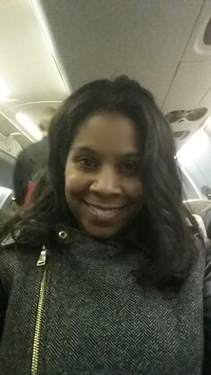Due to a freak snowstorm in Charlotte, NC, it took almost 24 hours to make it from DC to Tallahassee for my presentation at FAMU. This was me boarding the last flight after over 15 hours in the airport. By the time I got to FAMU, all my nerves about presenting were gone!