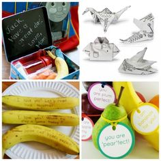 10 Creative Lunch Note Ideas for back to school!
