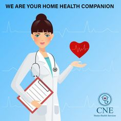 Get well soon with home health care services in Houston! To get more information, contact CNE Home Health. Doctor Vector, Health Facts, Health Tips, License Plate Art, Nursing Care, Home Health Care, Female Doctor, Medical Illustration, Creative Advertising