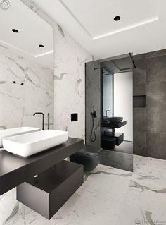Modern bathroom design 415527503121560053 - Stunning Modern Seafront Designer Villa in Costa Dorada Source by Bathroom Design Luxury, Bathroom Layout, Modern Bathroom Design, Home Interior Design, Small Bathroom, Bathroom Designs, Master Bathrooms, Dream Bathrooms, Grey Marble Bathroom