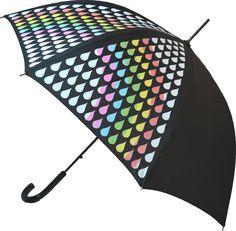 Parapluie Change de Couleur - Arc en Ciel - Automatique