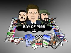Bay of Pigs IO is a property trading game about the Bay of Pigs invasion.  The Bay of Pigs  Invasion occurred on April 17th, 1961 and was a 3 day military conflict between two opposing sides — the United States' CIA backed Democratic Revolutionary Front (DRF) and Prime Minister Fidel Castro's Leftest Cuban armed forces.  The failed invasion strengthened the position of Castro's administration and set the stage for over 50 years of strained relations between the U.S. and Cuba…