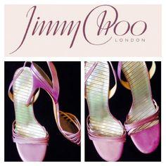 ❤️ Jimmy Choo Pink Sling Back Sandals ❤️  Beautiful Jimmy Choo Pink Sling Back Sandals  They will complete your summer wardrobe!  Size 39 = 8.5 Jimmy Choo Shoes Heels