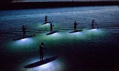Funny pictures about Paddle Boarding At Night. Oh, and cool pics about Paddle Boarding At Night. Also, Paddle Boarding At Night photos. Stand Up Paddling, National Geographic Photo Contest, Sup Stand Up Paddle, Unique Vacations, Honfleur, Waterproof Led Lights, Playa Beach, Sup Yoga, Sup Surf
