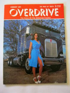 february 1981 overdrive american trucker #magazine great condition from $24.99