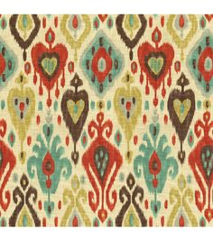 Richloom Studio Home Decor Print Fabric Dorado Persian, , hi-res Kitchen Curtains?